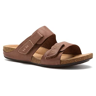 cae61b26a91 Clarks Perri Island Womens Brown Nubuck Sandal 11-WIDE  Amazon.co.uk  Shoes    Bags