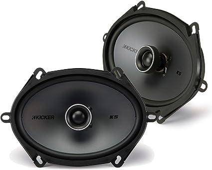 Kicker 44KSC6804 6X8 Speakers With Wiring Harness Fits Ford 2 Pairs 75Watt Rms