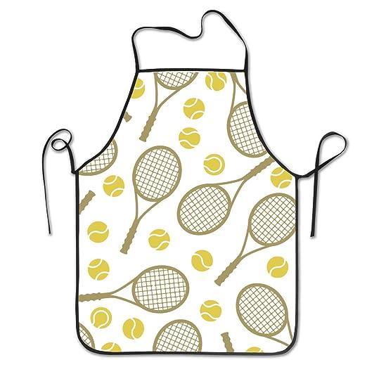 Molelanki Raquetas de Tenis Pelotas Resistente Duradero Ajustable ...