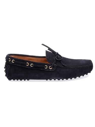 alta moda a prezzi ragionevoli il più economico Car Shoe Mocassini Uomo Lvascamosc8f0008 Camoscio Blu: Amazon.it ...