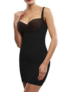 b06fdbe8d6ee0 Beilini Women s Control Slip Shapers Shapewear Dress Full Body Shaper