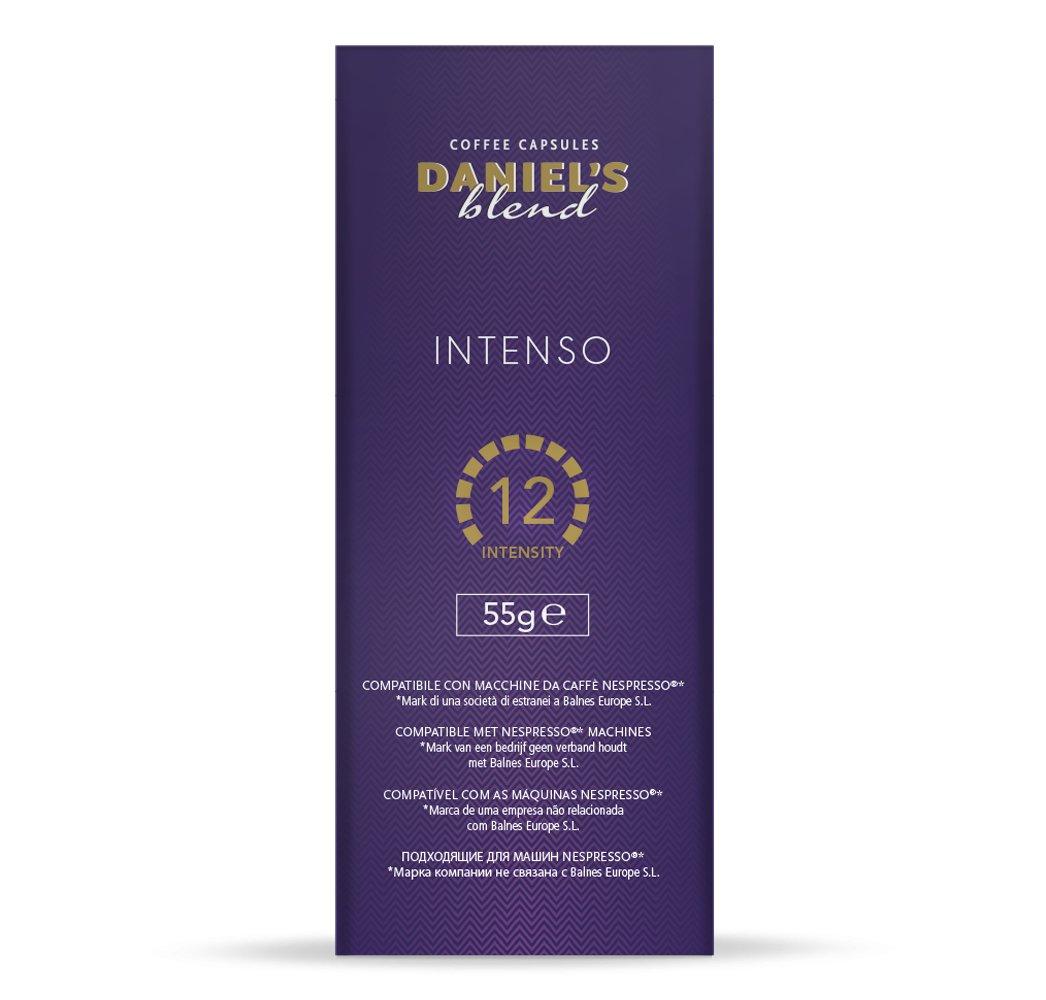DANIELS BLEND - 50 Cápsulas de Café Compatibles con Máquinas Nespresso - INTENSO: Amazon.es: Alimentación y bebidas