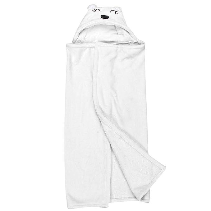 kingko® Lovely suave bebé toallas de manta para bebé forma de animal con capucha albornoz de toalla de baño ropa para recién nacido: Amazon.es: Ropa y ...