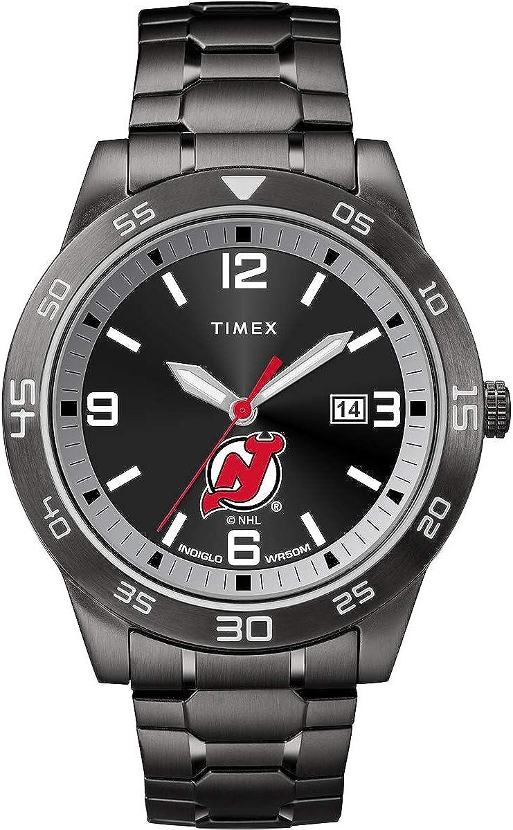 Timex Men's TWZHDEVMM NHL Acclaim New Jersey Devils Watch
