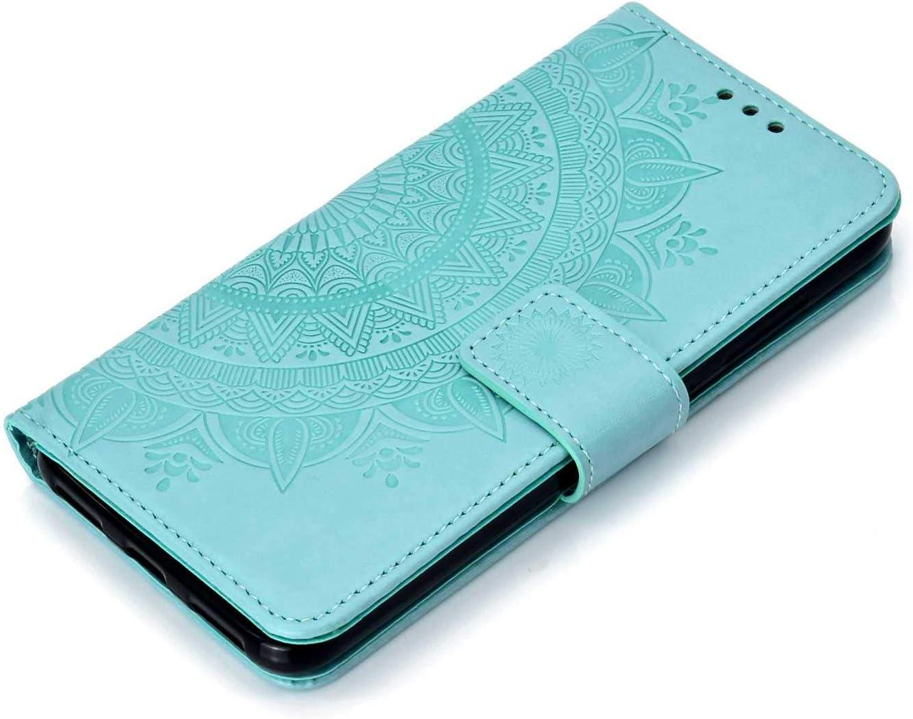 Coque Xiaomi PocoPhone F1 The Grafu/® /Étui en Cuir PU Int/érieur en TPU Antichoc Magnetic Housse avec Fonction de Support pour Xiaomi PocoPhone F1 Bleu
