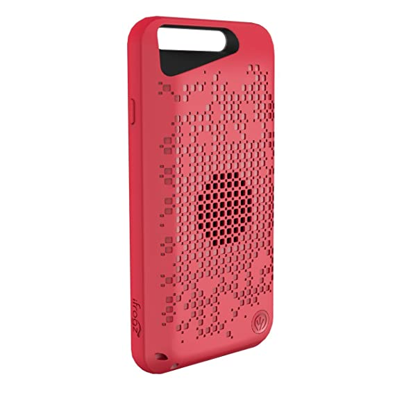 quality design ac611 3dc0b iFrogz Acoustic Case with Built in Bluetooth Speaker for Apple iPhone 6 /  iPhone 6S - Red