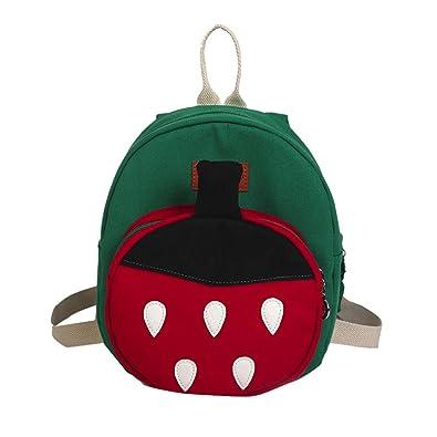 5878f2aa6d00 ALIKEEY Child Baby Girl Boy Kids Cartoon Strawberry Fruit Backpack Toddler  School Bag Kindergarten Rucksack Cute Animal