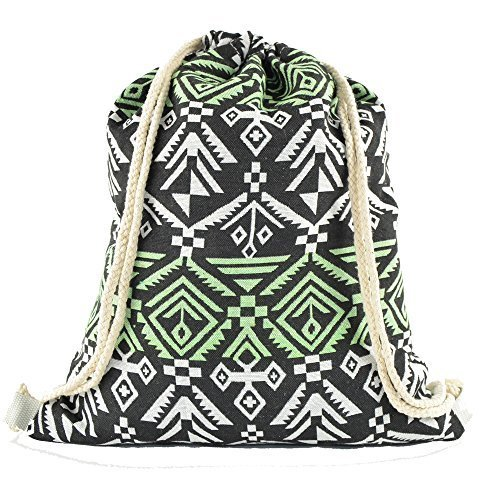 cleostyle - Bolso mochila  de algodón para mujer Modell 1