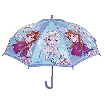 PERLETTI perletti50210 38 x 8 cm niña Frozen Impreso Seguridad Apertura Tipo Paraguas
