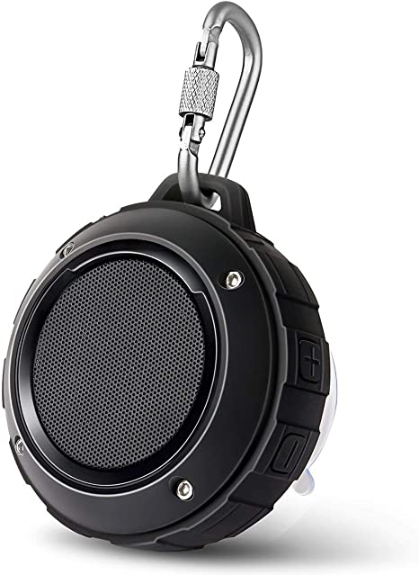 Bluetooth Waterproof Wireless Speaker Shower For iPhone Samsung W//Mic  Black