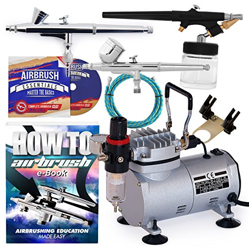 Top 10 recommendation cake airbrush kit with dual compressor for 2019