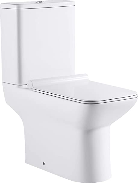 Orchestra Close Coupled Toilet Pan Dual Flush Cistern and ...