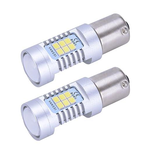 33 opinioni per Super bianca LED P21W 1156 7506 Ba15s 21-SMD  Auto Backup, Inverso, Freno