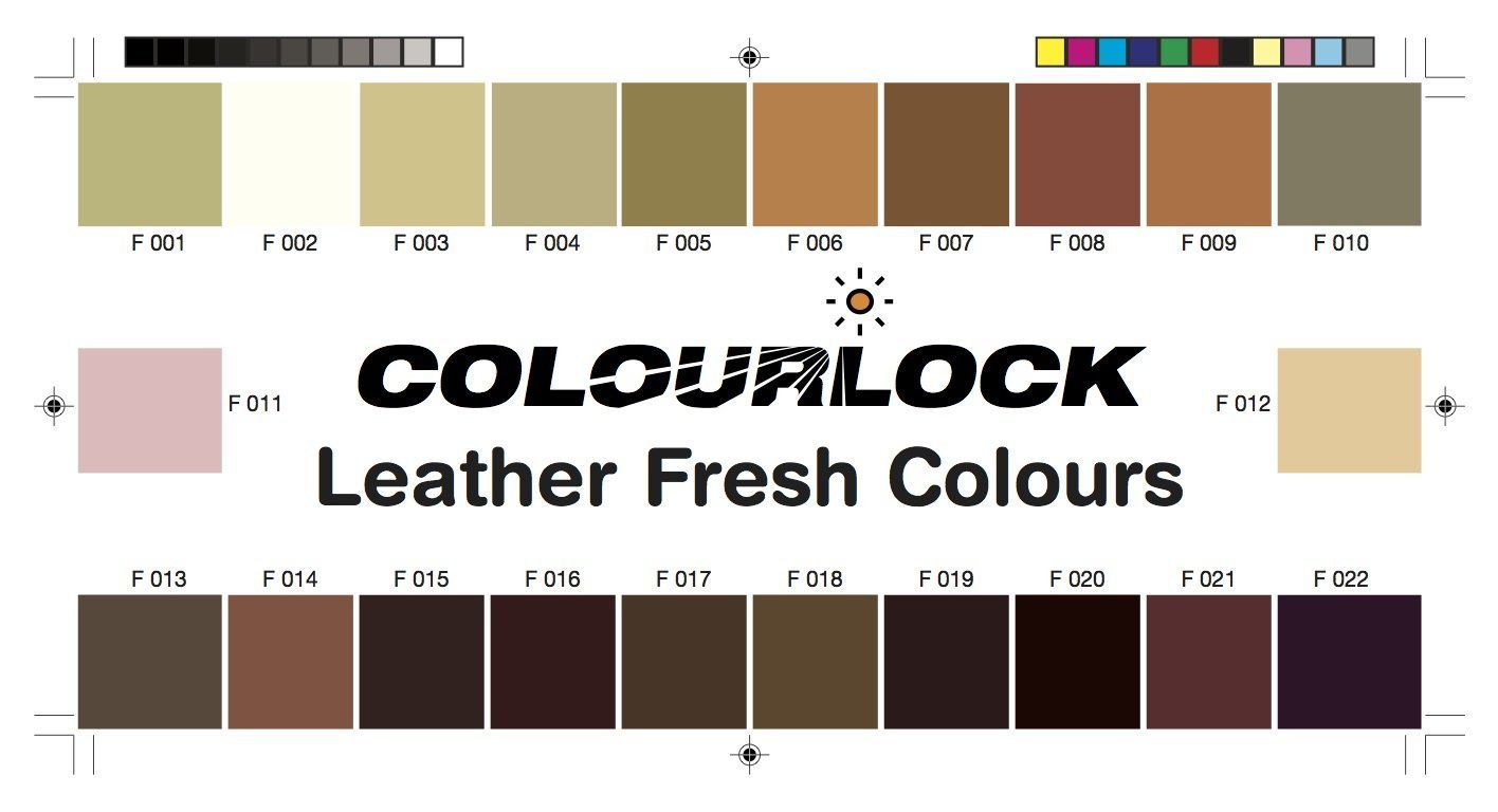 colourlock leather fresh dye diy colour to restore leather cars sofas clothes ebay. Black Bedroom Furniture Sets. Home Design Ideas