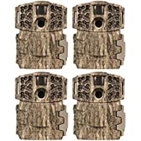 (4) Moultrie No Glow Invisible 14MP Mini 888i Infrared Game Cameras | M-888i