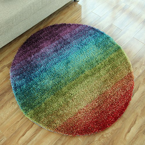 Simple Fashion Design Stripes Round Living Room Rug