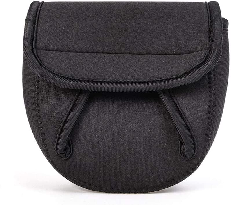 Kratzer Fishing Reel Bag Cover Schutzh/ülle Beutel Aufbewahrung Tragbare Tasche f/ür effektive Schutz Ihrer Angelrolle vor Auswirkungen Glomab Angelrolle Tasche