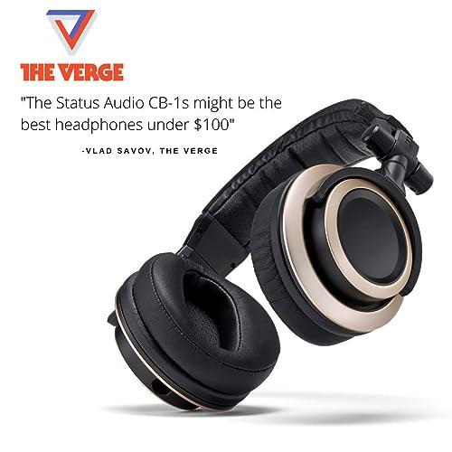 Status Audio CB-1 Closed Back Studio Monitor Headphones review