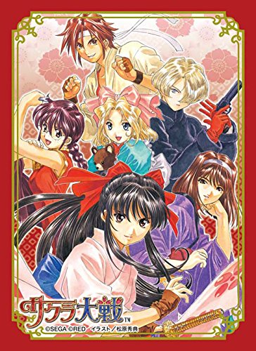 Character Sleeve Collection Sakura Wars ''Flower set'' by Broccoli