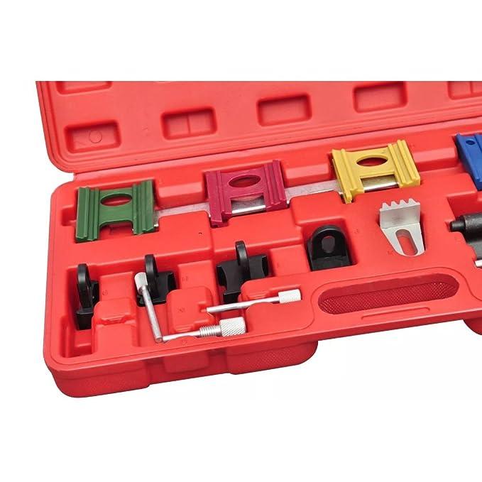 Kit de herramientas de calibración de motor A- Ford & Fiesta 1.25, 1.4 (95-), 1.8-xr2i/RS 1800 16 V Mondeo 1.6, 1.8, 2.0 16 V (1993) Mazda & 121.1.25: ...