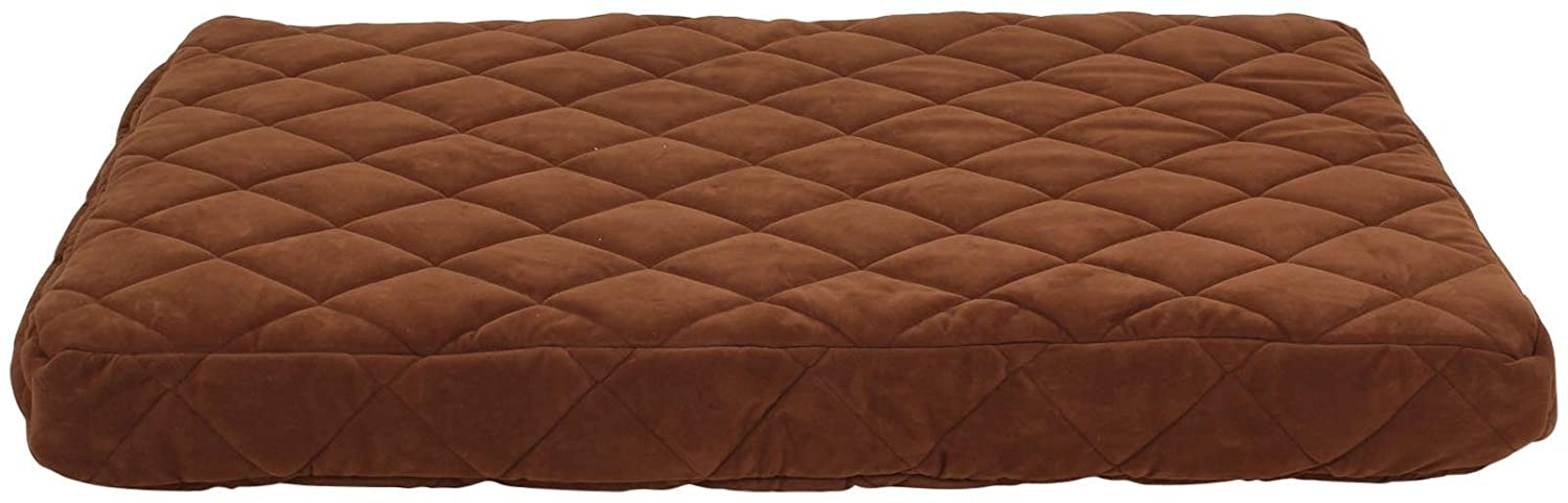 Carolina Pet Jamison Predector Pad Quilted OOPS Bed for Pets, Small, Chocolate
