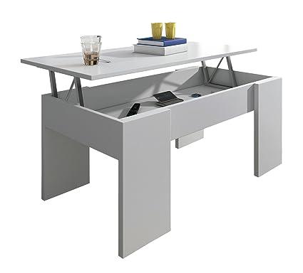 HomeSouth - Mesa de centro elevable, mesita comedor salon modelo ...