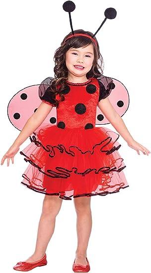 Girls Toddler Costume Party Fancy Dress Bee Ladybird