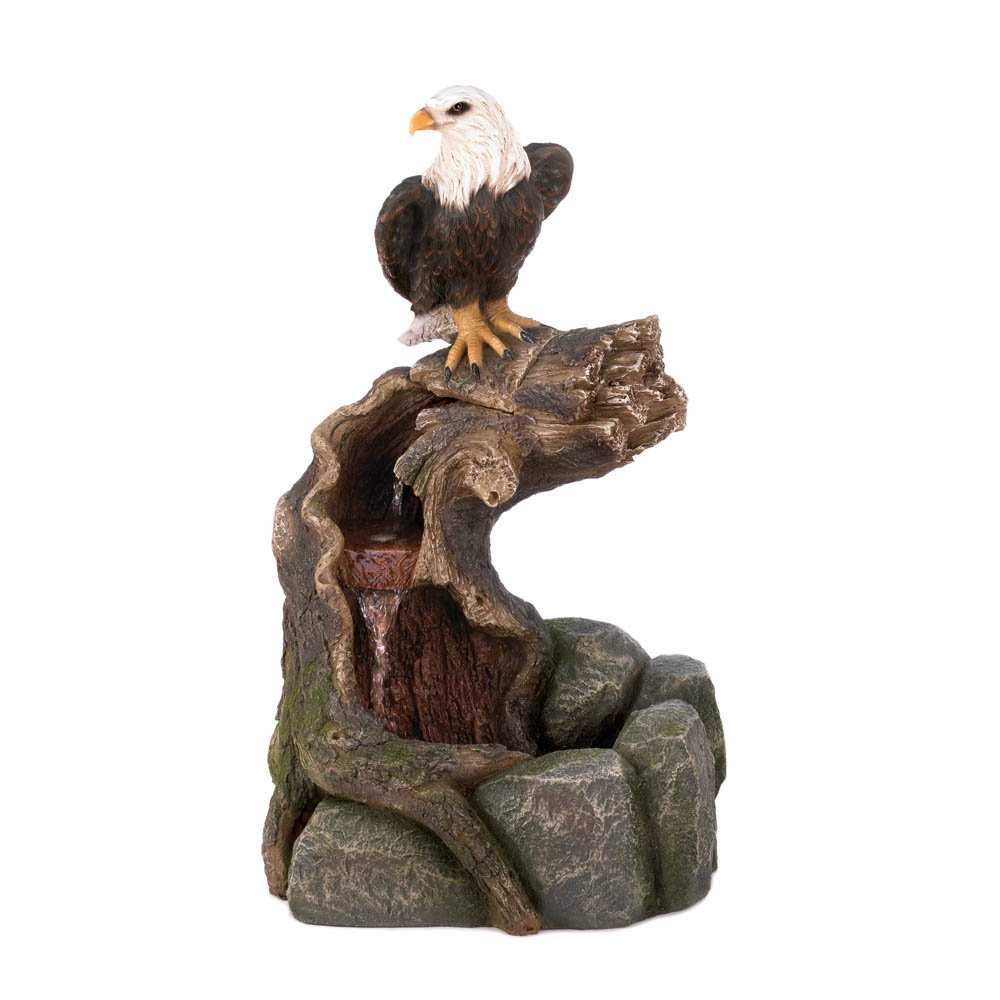 Majestic Eagle Fountain Indoor and Outdoor Fountains Water Fountain Garden Fountain