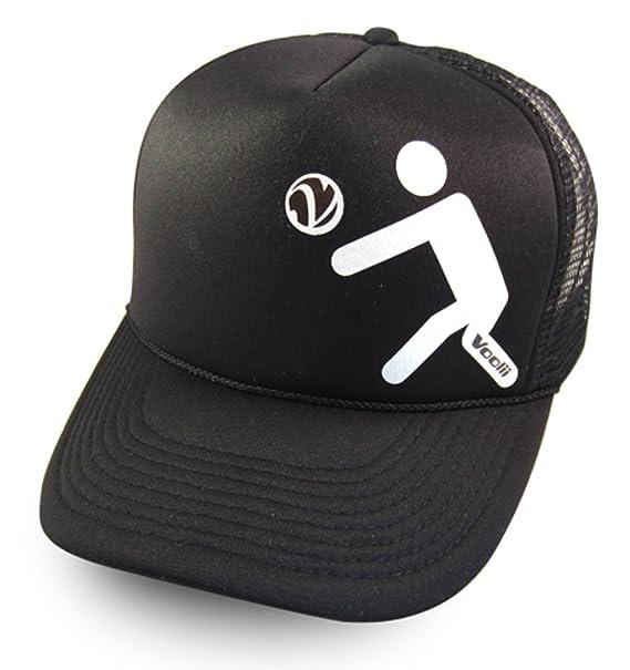 2732146d Voolii Men's Bumper Icon Trucker Mesh Hat One Size Black at Amazon ...
