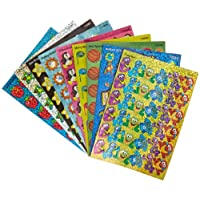 Trend Enterprises Sparkle Stickers School Fun Themed Jumbo Pack - 1 1/4 in - Pack of 648