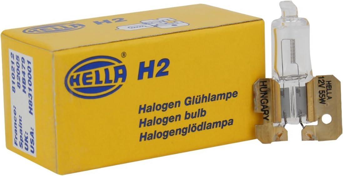 HELLA 1F7 004 700-431 Fernscheinwerfer Rallye 1000 rund Halogen 12 V Anbau links//rechts h/ängend//stehend
