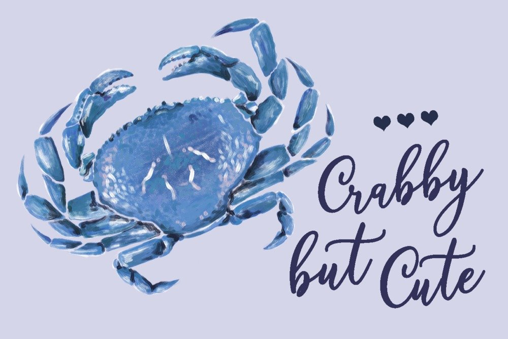 買い保障できる ブルーCrab – Crabby But Cute – 15oz B079YKD217 Mug LANT-3P-15OZ-WHT-85112 B079YKD217 Crabby 12 x 18 Signed Art Print 12 x 18 Signed Art Print, パソコンショップ Be-Stock:185da884 --- vezam.lt
