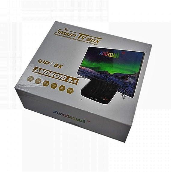 Smart TV Box Android Q10 6K Android 8.1 TV Box CPU 4 Core 4GB RAM 64GB ROM Q10: Amazon.es: Electrónica
