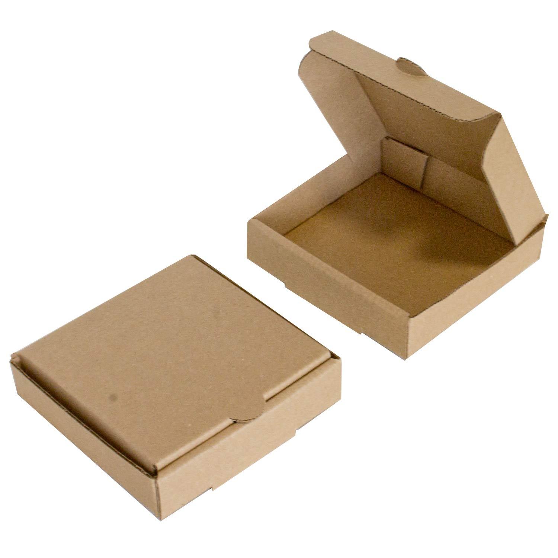 Cajas de pizza Kraft de 10,16 cm (8 unidades) – Marca Chica y Jo – Cajas de cartón cuadradas planas de 10,16 x 10,16 cm: Amazon.es: Industria, empresas y ciencia