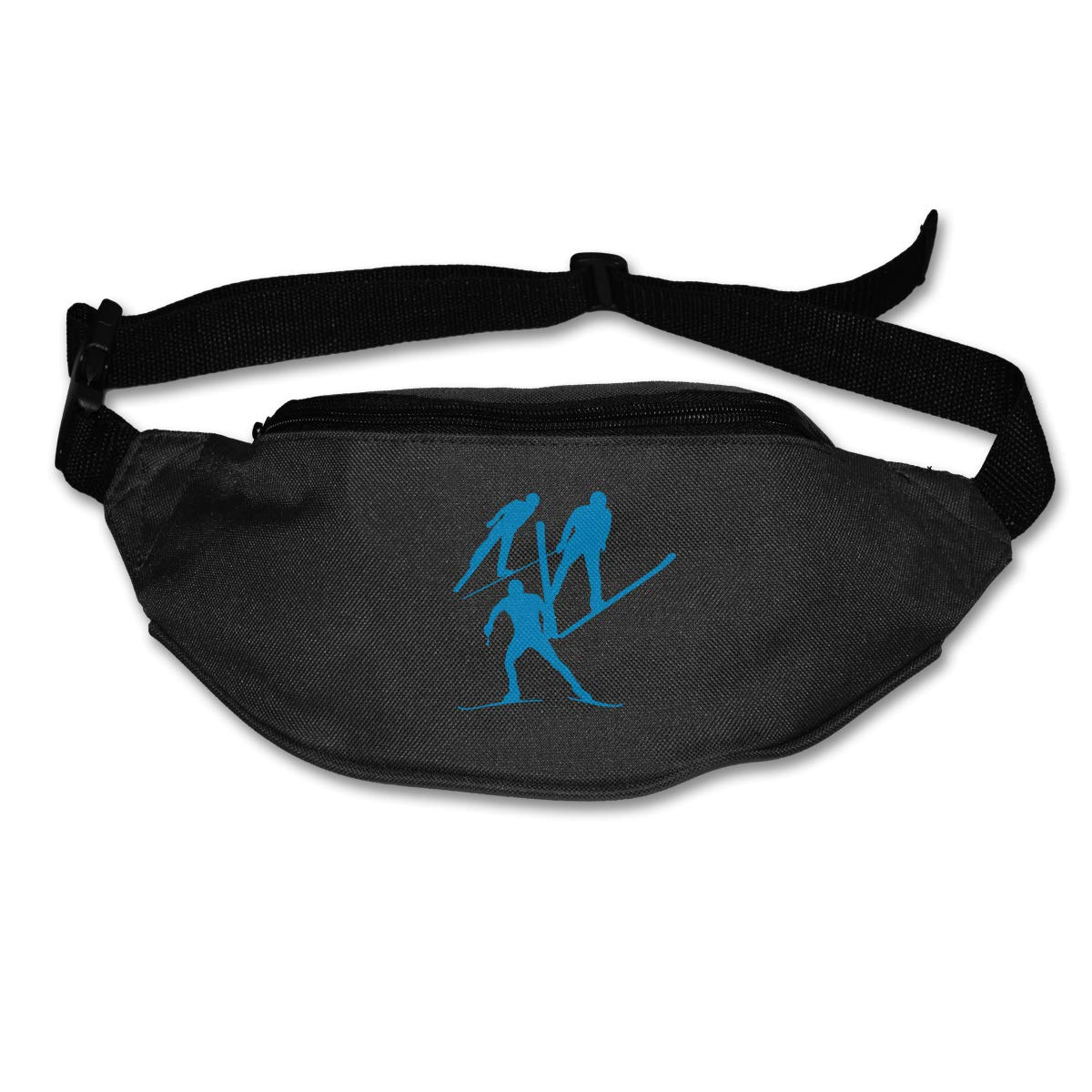 Nordic Combined Players Sport Waist Packs Fanny Pack Adjustable For Hike