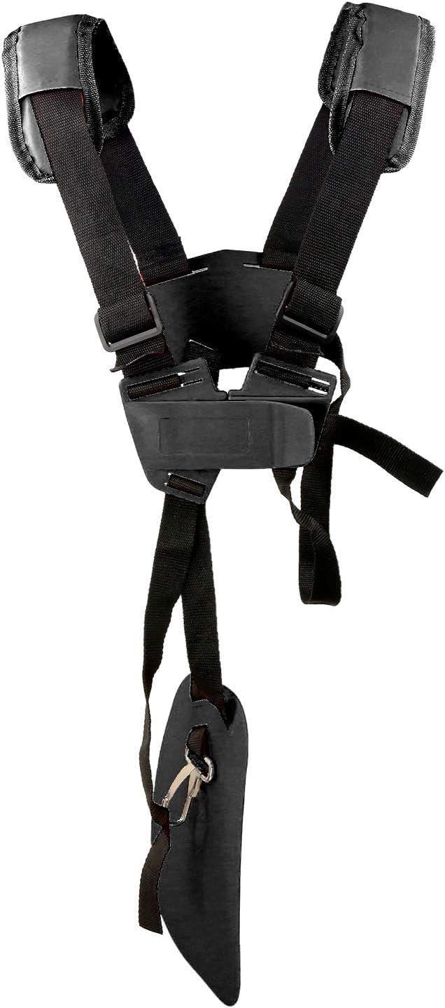 YOUSHARES - Correa para el hombro para cortacésped de cortacésped con correa de nailon duradero ajustable para cortador de cepillos o jardinería para Stihl FS, KM Series