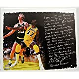 Magic Johnson & Larry Bird Story Piece