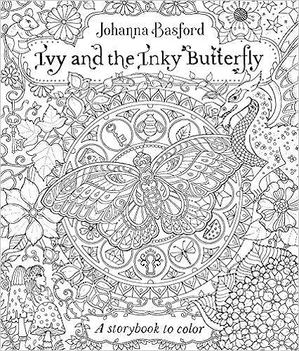 Livre Ivy et le papillon d'encre de Johanna Basford