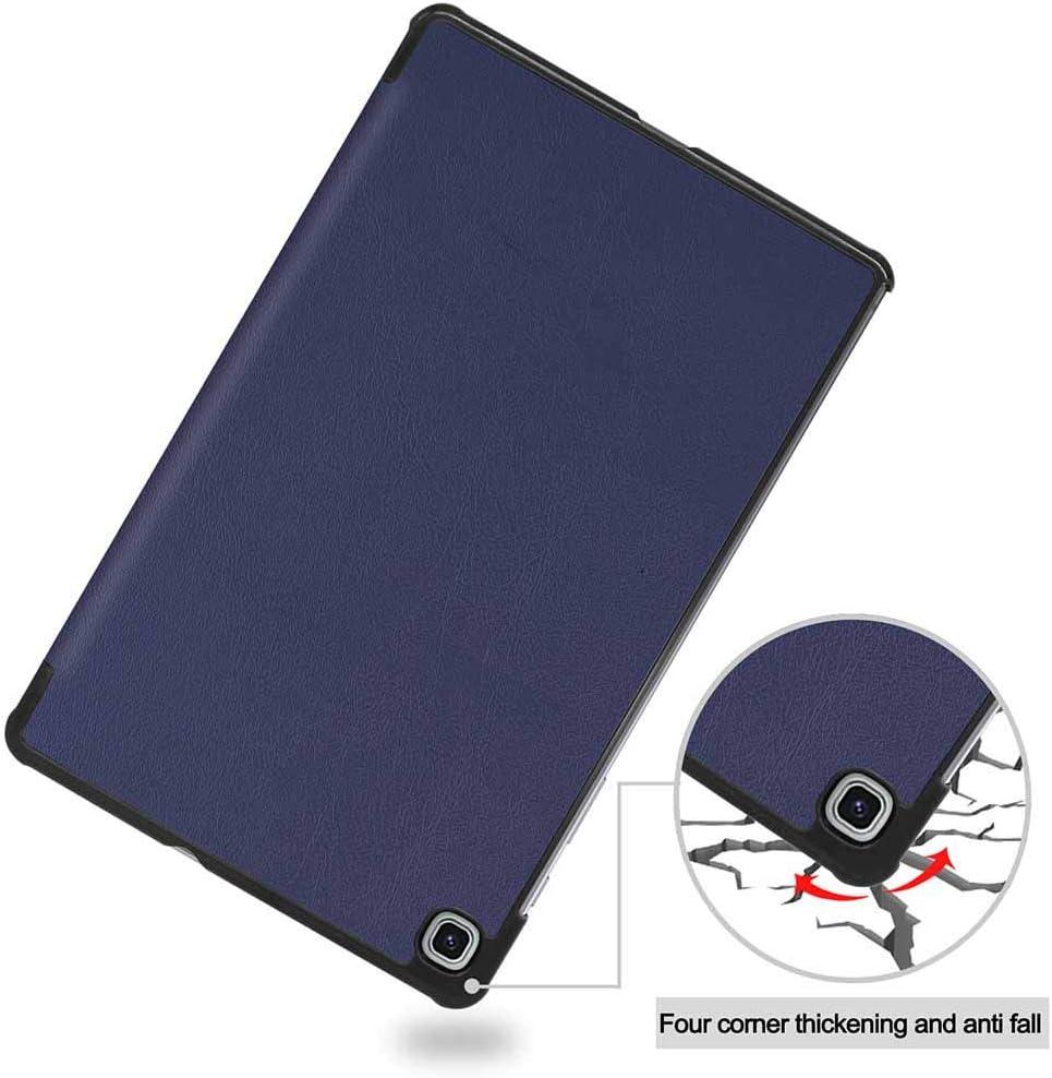Auto Sonno//Sveglia Nero Supporta S Pen Wireless Charging ESSTORE-EU Custodia per Samsung Galaxy Tab S6 Lite 10.4 SM-P610//P615, Folio Smart Cover Protettiva Case