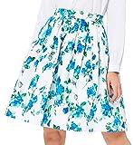 Pleated Swing Skirt Midi Length for Women Size M CL6294-4