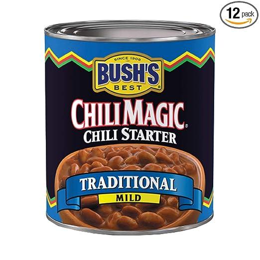 Bush's Best Chili Magic Traditional Chili Starter, 15.5 oz (12 cans)