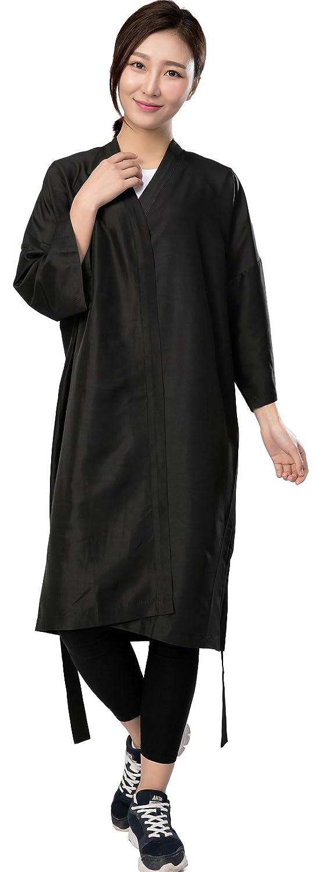 Salon cliente vestido túnica Cabo, Peluquería con mangas para clients- Kimono estilo, 42 cm de largo: Amazon.es: Belleza