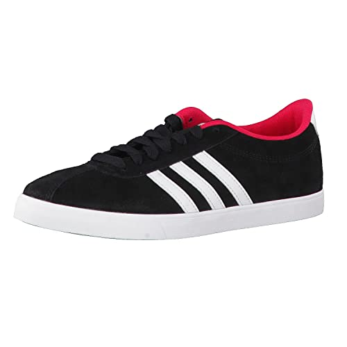 timeless design 3a6a9 cd60b Adidas Tenis Courtset W Tenis para Mujer Negro Talla 24.5