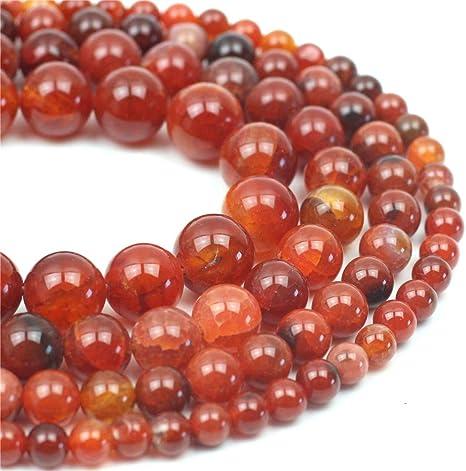 3 Strand Natural Orange Carnelian Smooth Rondelle Gemstone Loose Beads 3-4mm 14