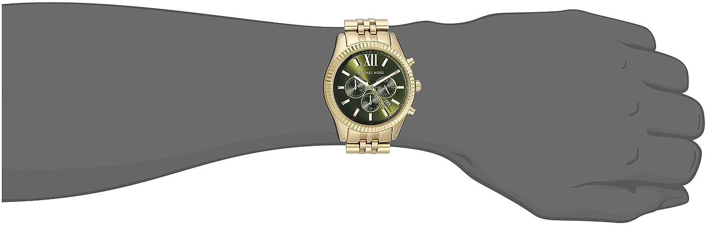 e27bdd020ad Amazon.com  Michael Kors Men s Lexington Gold-Tone Watch MK8446  Michael  Kors  Watches