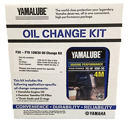 Yamalube F30 - F70 Outboard Oil Change Kit (LUB-MRNSM-KT-10 for sale  Delivered anywhere in USA