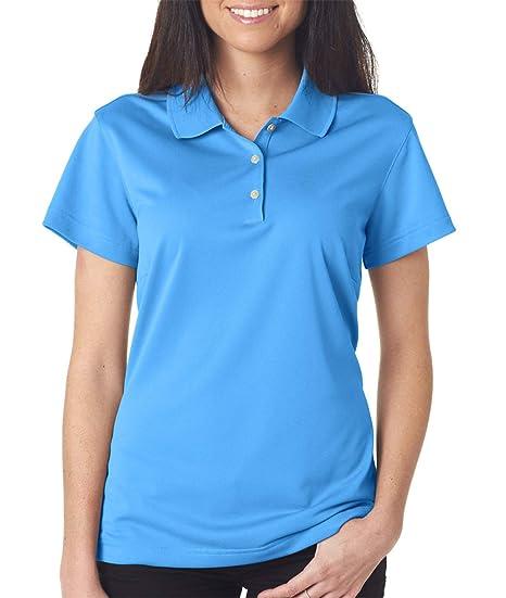 cc171abb6be6e adidas Women's Climalite Basic Knit Polo Shirt at Amazon Women's ...