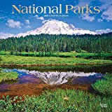 National Parks 2020 12 x 12 Inch Monthly Square Wall Calendar with Foil Stamped Cover, USA United States of America Scenic Nature