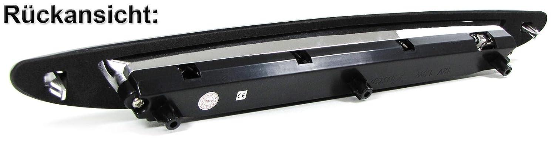 Bremsleuchte silber chrom Carparts-Online 29986 Klarglas LED 3