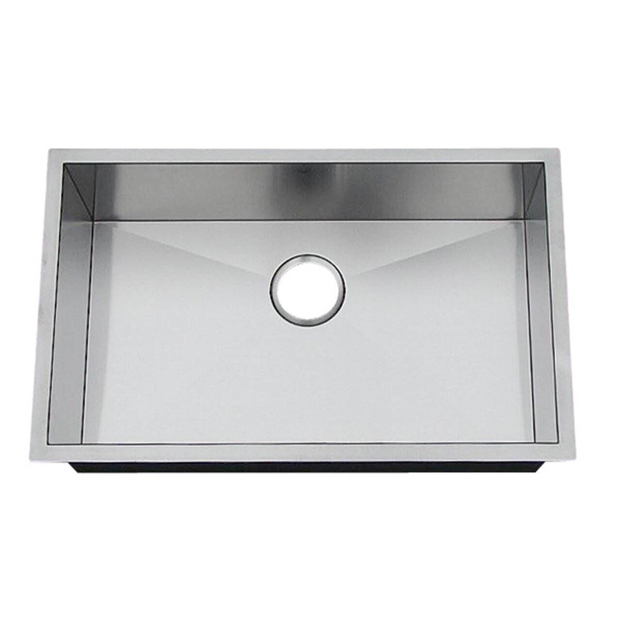 Superior Artisan CPUZ 2919 D10 29 Inch Undermount Single Basin 16 Gauge Stainless  Steel Kitchen Sink Chef Pro   Single Bowl Sinks   Amazon.com